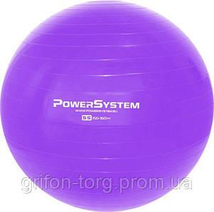 М'яч для фітнесу і гімнастики POWER SYSTEM PS-4011 55 cm Purple