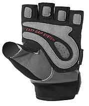 Перчатки для фитнеса и тяжелой атлетики Power System Easy Grip PS-2670 L Black/Grey, фото 3
