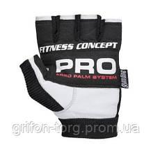 Перчатки для фитнеса и тяжелой атлетики Power System Fitness PS-2300 XL Black/White, фото 2