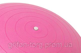 Мяч для фитнеса и гимнастики Power System PS-4012 Pro Gymball 65 cm Pink, фото 2
