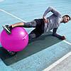 Мяч для фитнеса и гимнастики Power System PS-4012 Pro Gymball 65 cm Pink, фото 4