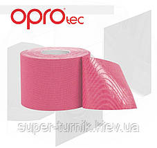 Кинезиологический тейп OPROtec Kinesiology Tape TEC57543 розовый 5cм*5м, фото 2
