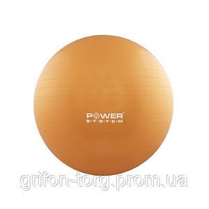 М'яч для фітнесу і гімнастики Power System PS-4018 85 cm Orange