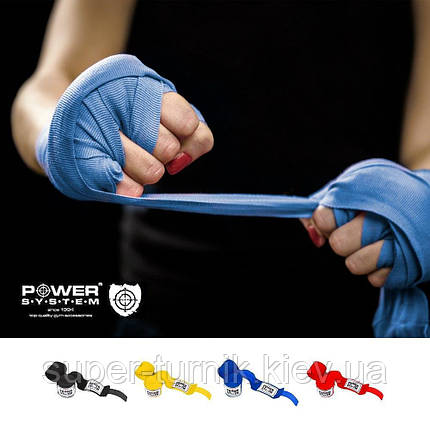 Бинты для бокса Power System PS - 3404 Red, фото 2