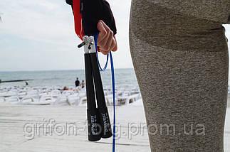 Скоростная скакалка Power System Ultra Speed Rope PS-4033 Blue, фото 3