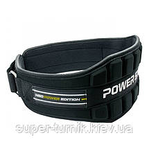 Пояс неопреновый для тяжелой атлетики Power System Neo Power PS-3230 Black/Yellow S, фото 3