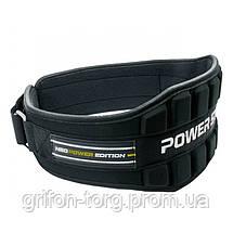 Пояс неопреновый для тяжелой атлетики Power System Neo Power PS-3230 Black/Yellow M, фото 3
