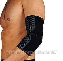 Налокотник спортивный OPROtec Elbow Support TEC5746-MD Черный M, фото 2