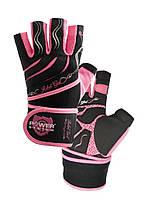 Перчатки для фитнеса и тяжелой атлетики Power System Rebel Girl PS-2720 XS Pink, фото 3