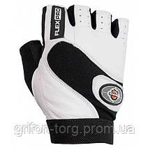 Перчатки для фитнеса и тяжелой атлетики Power System Flex Pro PS-2650 L White, фото 3