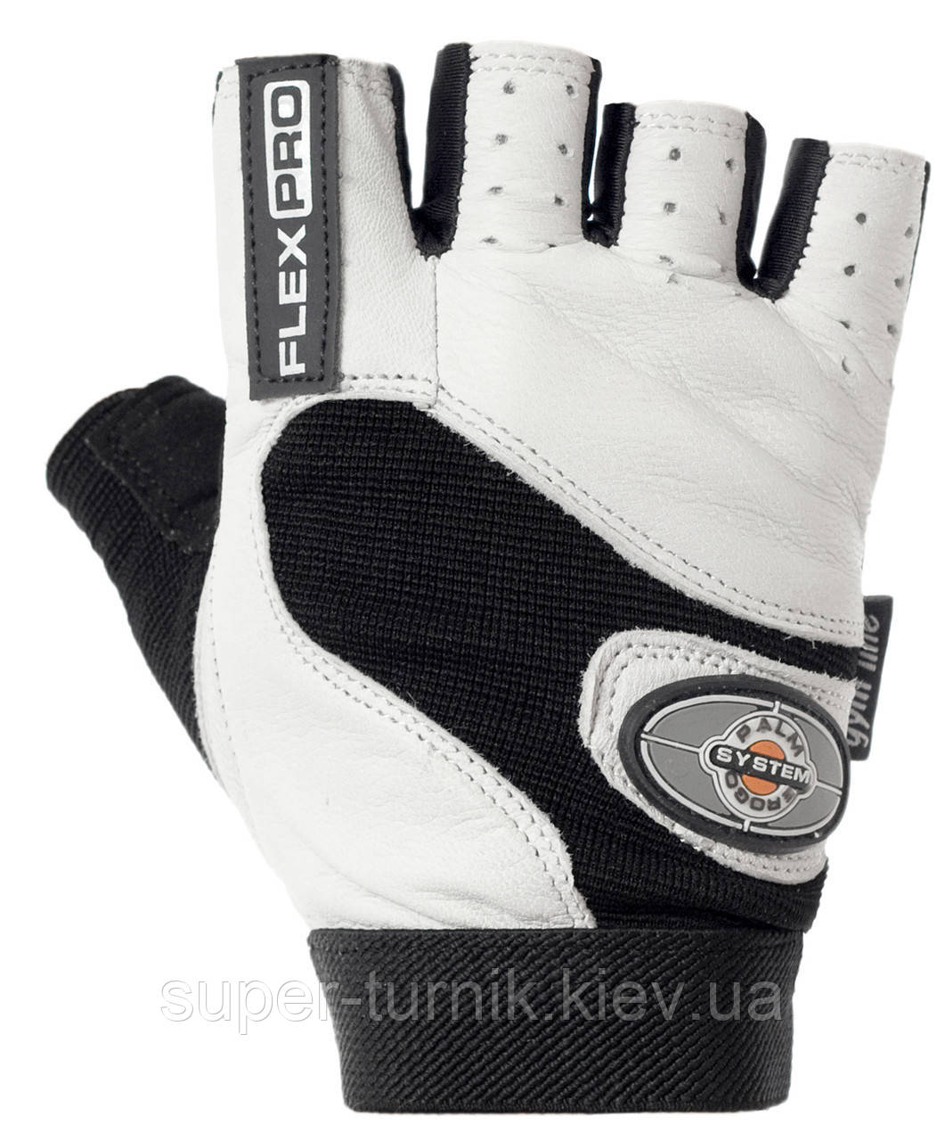 Перчатки для фитнеса и тяжелой атлетики Power System Flex Pro PS-2650 XL White