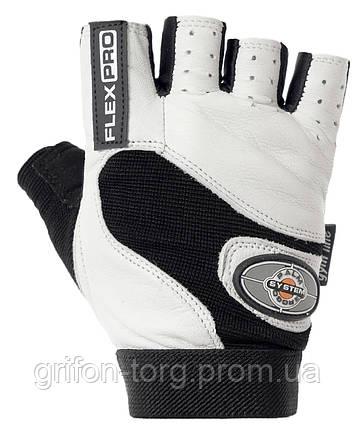 Перчатки для фитнеса и тяжелой атлетики Power System Flex Pro PS-2650 XL White, фото 2