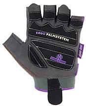 Перчатки для фитнеса и тяжелой атлетики Power System Woman's Power PS-2570 L Purple, фото 2
