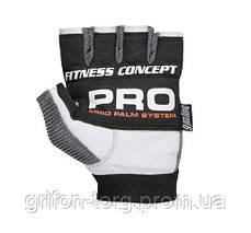 Перчатки для фитнеса и тяжелой атлетики Power System Fitness PS-2300 M Grey/White, фото 2