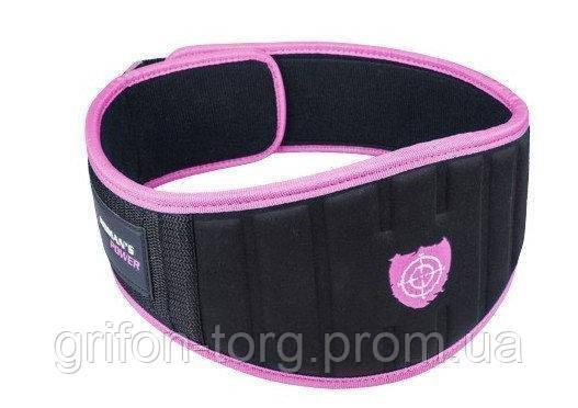 Пояс для тяжелой атлетики Power System Woman's Power PS-3210 M Pink