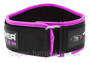 Пояс для тяжелой атлетики Power System Woman's Power PS-3210 M Pink, фото 3