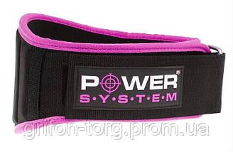Пояс для тяжелой атлетики Power System Woman's Power PS-3210 M Pink, фото 2