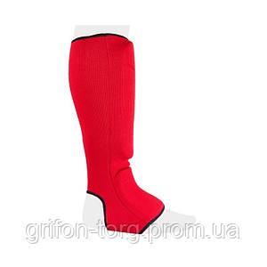 Защита голеностопаPower System Elastic Shin Pad PS-6006 M Red