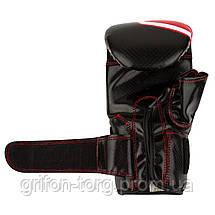 Перчатки снарядные Power System PS 5003 Bag Gloves Storm S Black/Red, фото 3