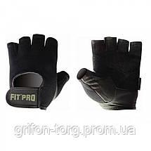 Перчатки для фитнеса и тяжелой атлетики Power System FP-07 B1 Pro XS Black, фото 3