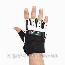 Перчатки для фитнеса и тяжелой атлетики Power System No Compromise PS-2700 XXL Black/White, фото 3