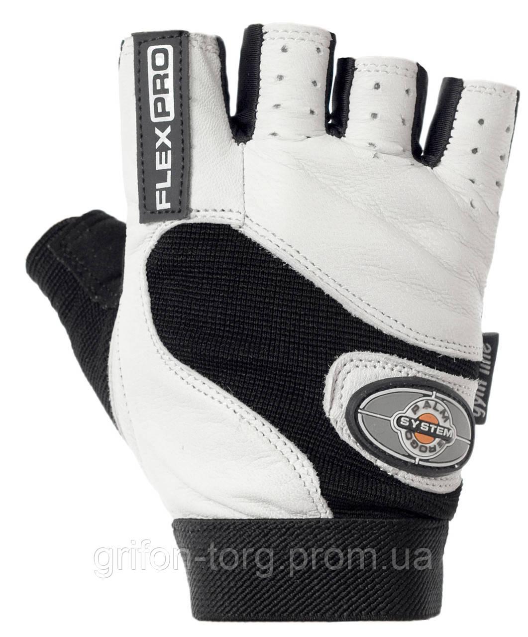 Перчатки для фитнеса и тяжелой атлетики Power System Flex Pro PS-2650 XS White