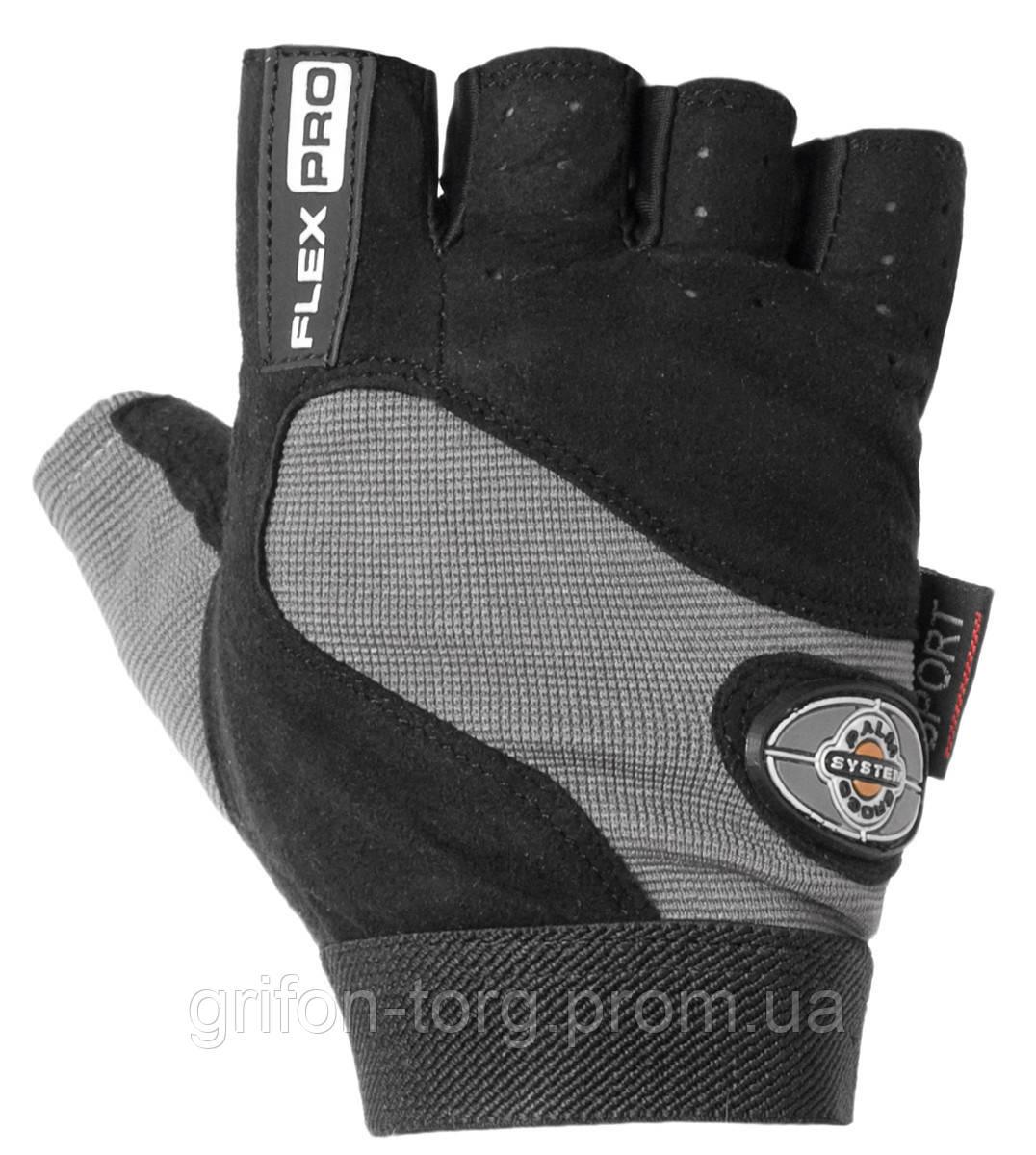 Перчатки для фитнеса и тяжелой атлетики Power System Flex Pro PS-2650 XXL Black