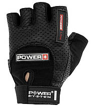 Перчатки для фитнеса и тяжелой атлетики Power System Power Plus PS-2500 XL Black, фото 3