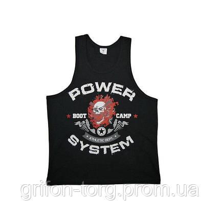 Майка для фитнеса и бодибилдинга Power System PS-8000 Boot Camp XL Black, фото 2