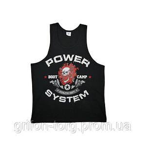 Майка для фітнесу та бодібілдингу Power System PS-8000 Boot Camp L Black