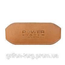 Пояс для тяжелой атлетики Power System Elite PS-3030 M Natural, фото 2