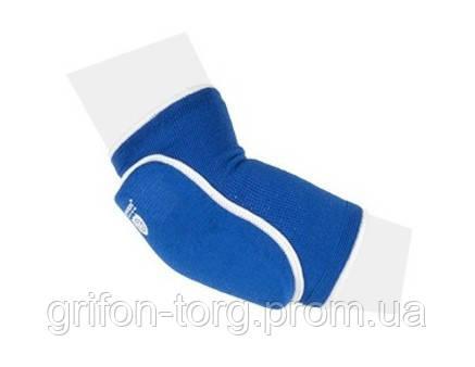 Налокотники Power System Elastic Elbow Pad PS-6004 L Blue, фото 2