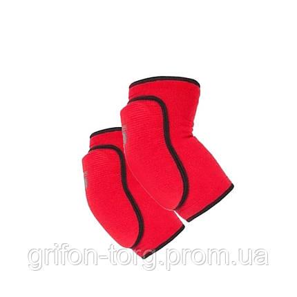 Налокотники Power System Elastic Elbow Pad PS-6004 M Red, фото 2