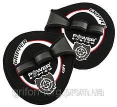 Накладки на ладони Power System Gripper Pads PS-4035 M Black, фото 3