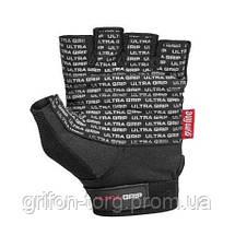 Перчатки для фитнеса и тяжелой атлетики Power System Ultra Grip PS-2400 L Black, фото 2