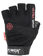 Перчатки для фитнеса и тяжелой атлетики Power System Ultra Grip PS-2400 L Black, фото 3