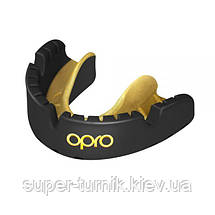 Капа OPRO Gold Braces Black/Goldl (art.002227005), фото 2