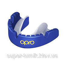 Капа OPRO Gold Braces Prl Blue/Prl (art.002227006), фото 2