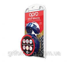Капа OPRO Gold Braces Prl Blue/Prl (art.002227006), фото 3