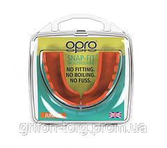 Капа OPRO Junior Snap-Fit Fluoro Orange (art.002143004), фото 2