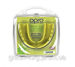 Капа OPRO Junior Snap-Fit Lemon Yellow Flavoured (art.002143007), фото 2
