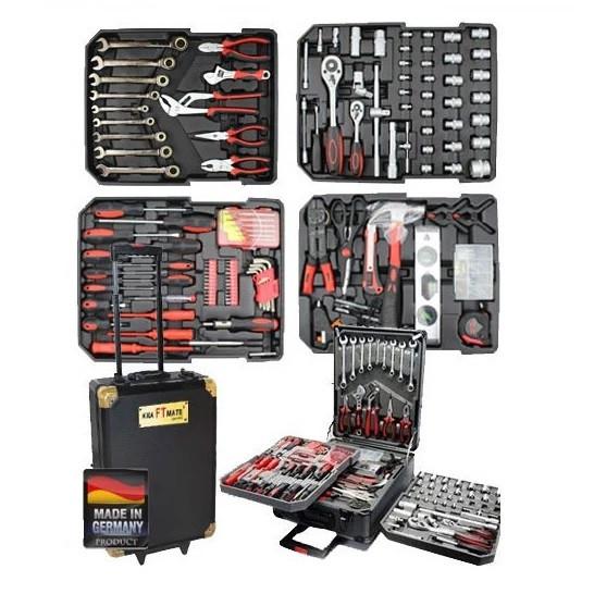 Набор инструментов DEUTSCHE Stahl 409 элементов. (Германия) BT409BLG