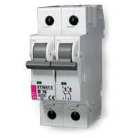 Авт. выключатель ETIMAT 6  2p C  1А (6 kA)
