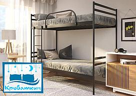 Двухъярусная металлическая кровать Comfort Duo (Комфорт Дуо) 80х190см Метакам