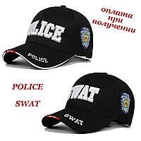 Чоловіча стильна молодіжна кепка бейсболка блайзер POLICE або SWAT, фото 1