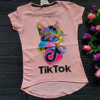 Футболка Tik Tik для девочки оптом