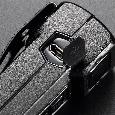 Сверхмощный наключный фонарь с OLED дисплеем Nitecore TUP серый, фото 6