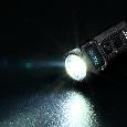 Сверхмощный наключный фонарь с OLED дисплеем Nitecore TUP серый, фото 7