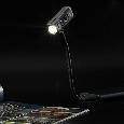 Сверхмощный наключный фонарь с OLED дисплеем Nitecore TUP серый, фото 10