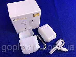 Bluetooth наушники HBQ I9S-Plus TWS V5,0 с кейсом и чехлом White, фото 2